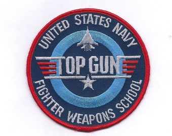 Vintage Top Gun Navy Patch