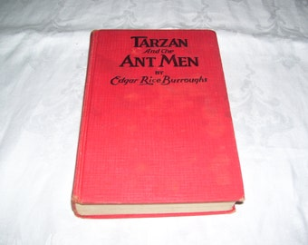 Tarzan and the Ant Men by Edgar Rice Burroughs HC 1924 Vintage