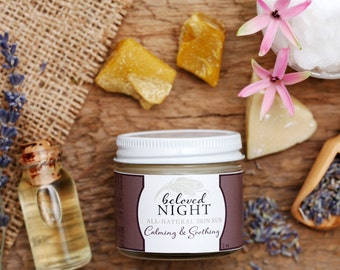 Beloved Night - All-Natural Skin Rub - Soothing and Relaxing Formula