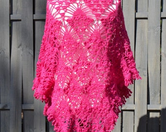 Wool Scraf Hand, Lace wrap, handknit lace wrap, Delicate lace wrap, romantic shawl