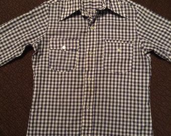 Vintage Levi's Gingham Shirt