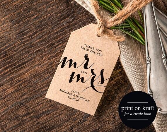 Rustic Wedding Gift Tags : Thank You Wedding Tags, Rustic Wedding Tag, Gift Tag, Thank You Tag ...
