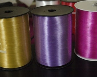 Pink Curling Ribbon  7mm by 500m