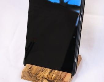 Handmade Wooden Tablet Holder