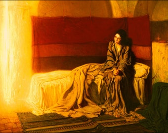 24x36 Poster . The Annunciation By Henry Ossawa Tanner 1898
