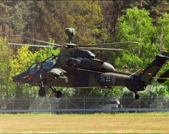 24x36 Poster . German Eurocopter Tiger Attack Helicopter