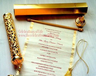 Scroll invitation etsy royal scroll invitation update now available in small quantities solutioingenieria Gallery