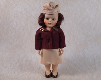 VFW Auxiliary Doll 1950s