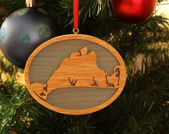 Martha's Vineyard Christmas Ornament