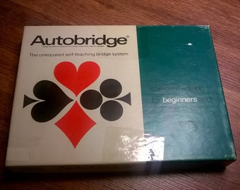 Autobridge - The unequaled self-teaching bridge system - 1969 - Parker Brothers