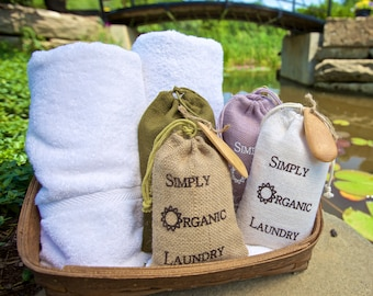 Simply Organic Laundry detergent is an earth-friendly, full service, artisan laundry powder that meets all your clothes washing needs!