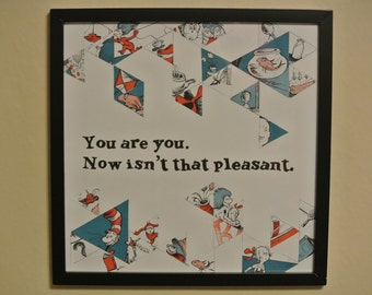 You are you - picture/collage