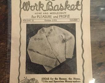 Work Basket Pamphlet
