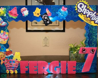 Shopkins Photo Frame Prop // Photo Booth Prop