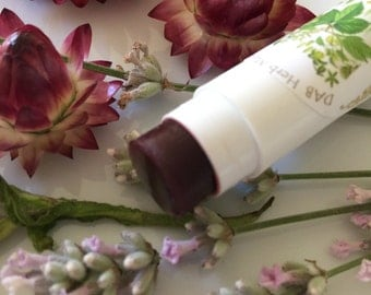 Organic Root Lip Stain, Lip Tint, Lip Pinch, Vegan, Buildable, Healing, Moisturizing, Softening