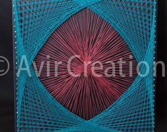Custom String Art Design Board