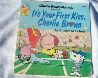 Charlie Brown Records,Its Your First Kiss Charlie Brown(Book Only)