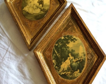 Two antique paintings