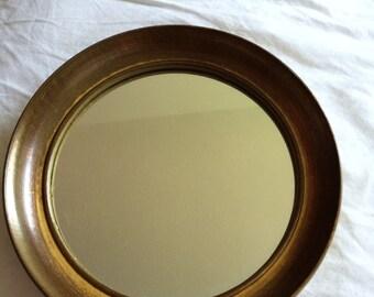 Vintage circle mirror