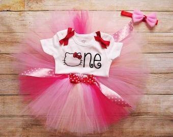 Hello Kitty birthday outfit / Hello kitty tutu