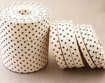 40mm star pattern ribbon-bh