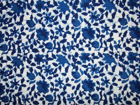 Indigo fabric cotton fabric printed cotton hand block print for Fabric printing