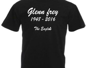 Glenn Frey t shirt inspired by the Eagles
