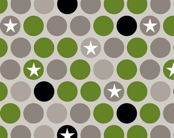 Riley Blake - Military Max Gray - Fabric by the Yard
