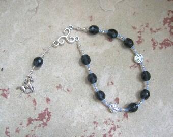 Epona Pocket Prayer Beads: Gaulish Celtic Goddess of the Horse