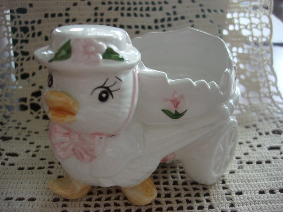 Vintage Easter Chick Figurine