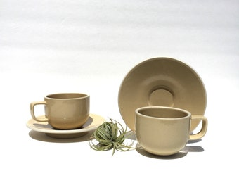 Massimo Vignelli Sasaki Colorstone in Wheat Cup And Saucer  sc 1 st  Etsy & Vintage Modern Massimo Vignelli Sasaki Colorstone in Hunter