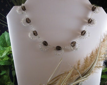 Maybelle Necklace. Lacy looking and very feminine!