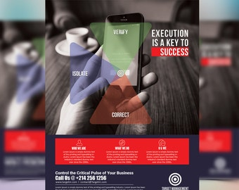Multipurpose Corporate advertising Template - Advertising Marketing - Photoshop template INSTANT DOWNLOAD