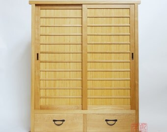 Japanese Style Book Chest (BT)