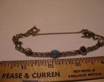 Goldette Gemstone Bracelet(437)