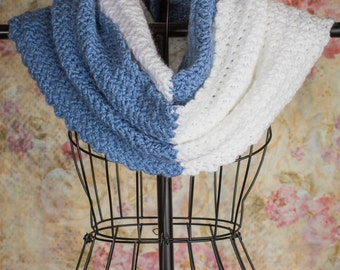 Infinity Scarf, Crochet scarf, Ladies infinity scarf, circle scarf, cowl, hooded scarf, Ready to ship, gifts for her, knit scarf colorblock