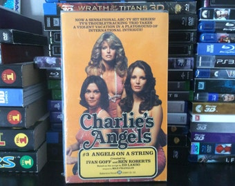 Charlie's Angels #3 Angels On A String Paperback Novelization of the Hit Television Series