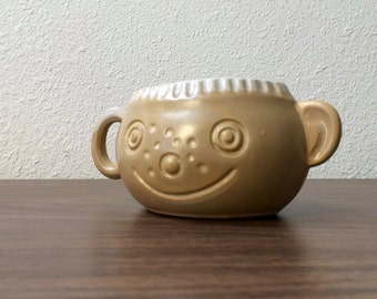 People Lovers face mug / Pacific Stoneware / Bennett Welsh pottery