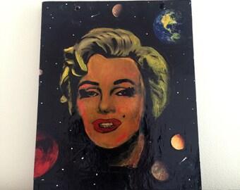 Marilyn Monroe In Space