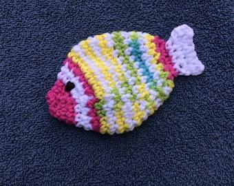 Small striped fish scrubby