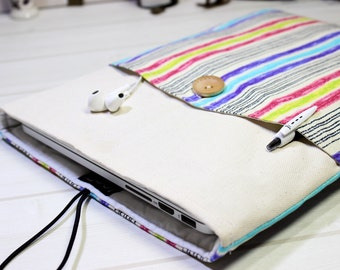 11 inch Macbook case, rainbow Macbook case, laptop sleeve 12, New Macbook case, 12 Macbook sleeve, Macbook Air sleeve, rainbow laptop case