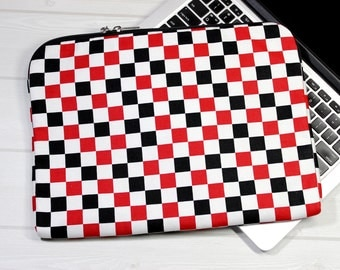 Macbook Air case, 13 inch laptop case, Macbook Pro case, Macbook sleeve 13, zippered Macbook case, laptop case with zipper, gift for him