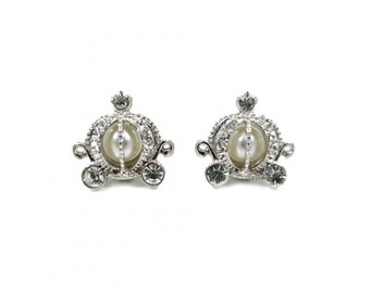 Cinderella Carriage Inspired Earrings ERK0048