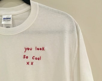 The 1975 You Look So Cool Embroidered T-shirt