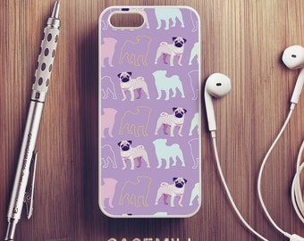 Pug Pattern iPhone 6 Case Pug iPhone 6s Case iPhone 6 Plus Case iPhone 6s Plus Case iPhone 5s Case iPhone 5 Case iPhone SE Case