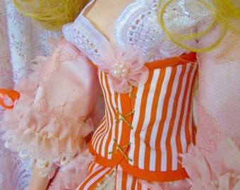 """Boudoir doll, OOAK doll, art sculpture, collecting doll, handmade doll, figurine, handcrafted doll made of polymer clay """"Catherine"""""""