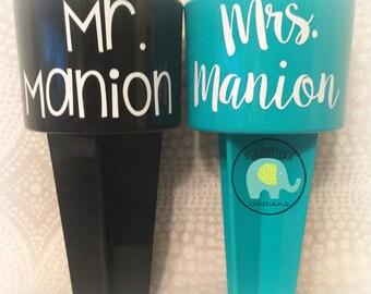 honeymoon beach drink spikes for the new mr & mrs (mr/mr) (mrs/mrs)
