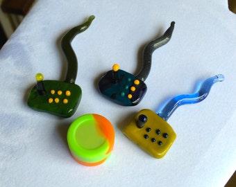 Retro Arcade Sticks (Glass Tool)