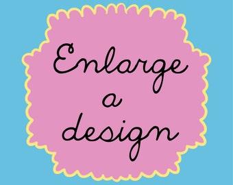 Enlarge A Print- A3, A2, A1, A0
