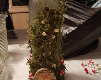 Wine Bottle Decor- Fairy Wonderland